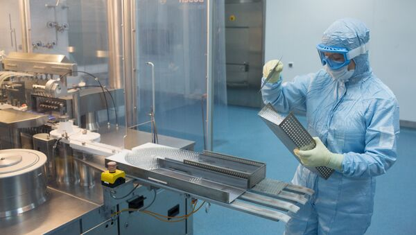 Produkcja szczepionki przeciwko COVID-19  - Sputnik Polska