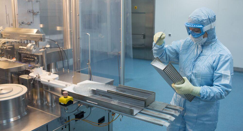 Produkcja szczepionki przeciwko COVID-19