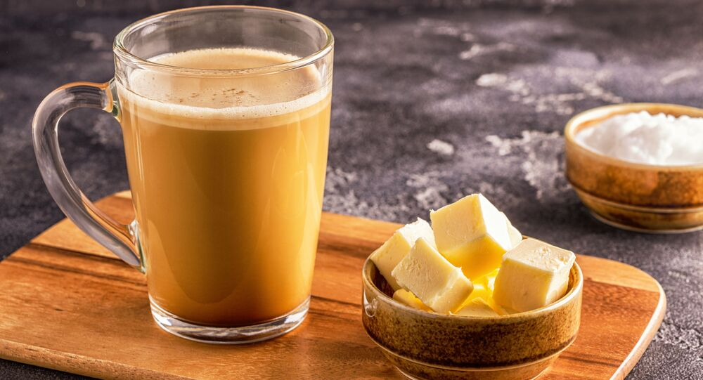 Kawa z masłem.