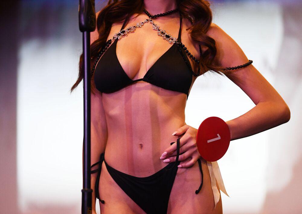 Konkurs piękności Miss MAXIM 2020 w Moskwie