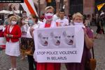 Mitingi na znak wsparcia Białorusinów