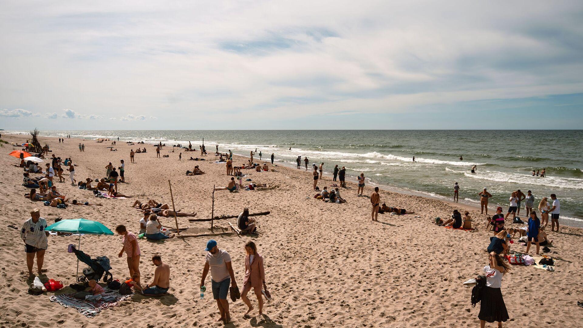"""Plaża na terytorium parku narodowego """"Mierzeja Kurońska"""" - Sputnik Polska, 1920, 16.07.2021"""