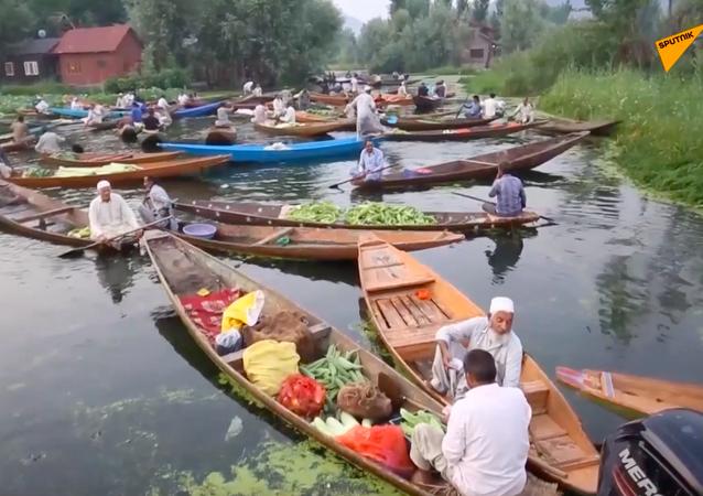 Rynek na wodzie