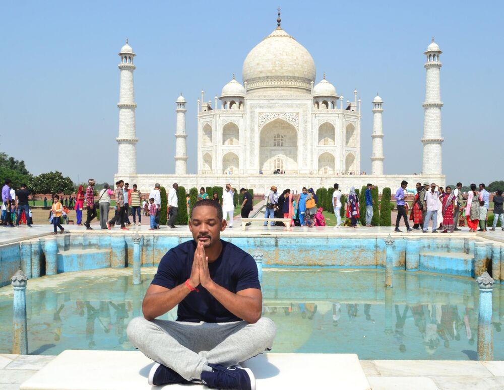 Aktor Will Smith w Indiach