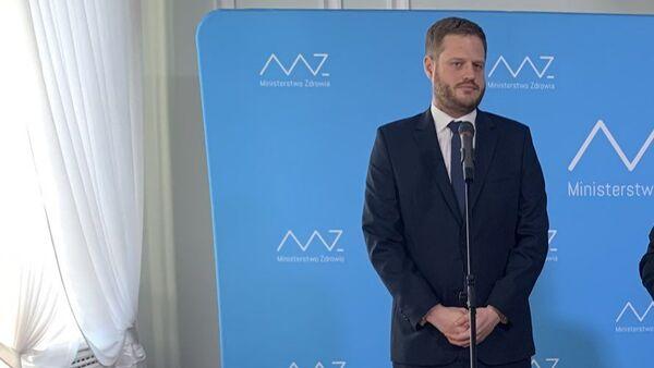 Były wiceminister zdrowia Janusz Cieszyński - Sputnik Polska