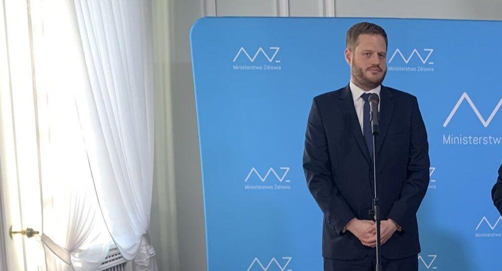 Były wiceminister zdrowia Janusz Cieszyński