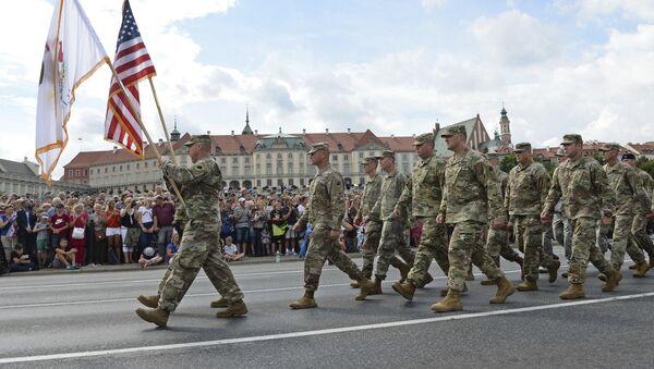 Żołnierze USA w Polsce  - Sputnik Polska