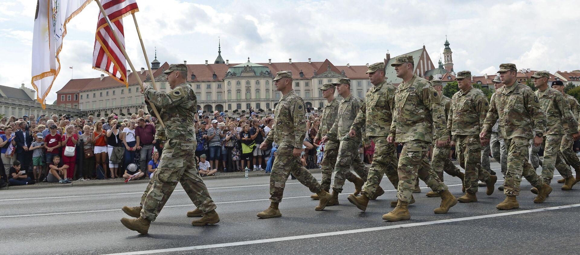 Żołnierze USA w Polsce  - Sputnik Polska, 1920, 20.05.2021
