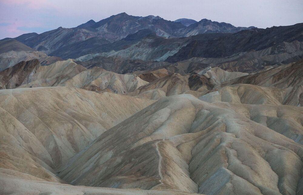 """Park narodowy """"Dolina Śmierci"""", USA."""