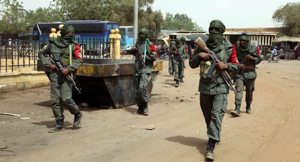 Wojskowi w Gao, Mali