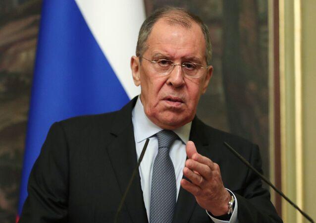 Minister spraw zagranicznyh Rosji Siegiej Ławrow