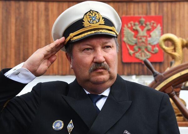 """Kapitan żaglowca """"Siedow"""" Wiktor Nikolin - Sputnik Polska"""