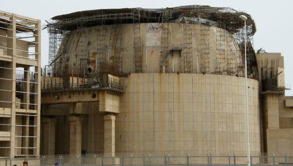 Elektrownia jądrowa w Buszehr w Iranie - Sputnik Polska