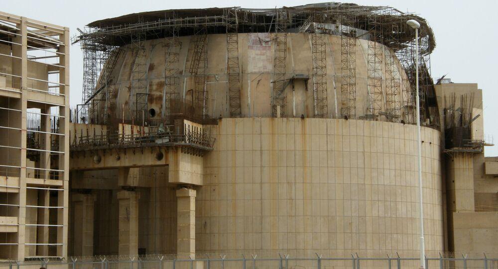 Elektrownia jądrowa w Buszehr w Iranie