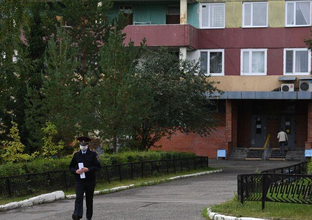 Szpital Ratunkowy Nr 1 w Omsku.