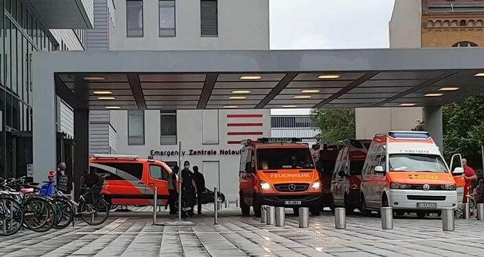Aleksiej Nawalny został przetransportowany do kliniki Charité w Berlinie
