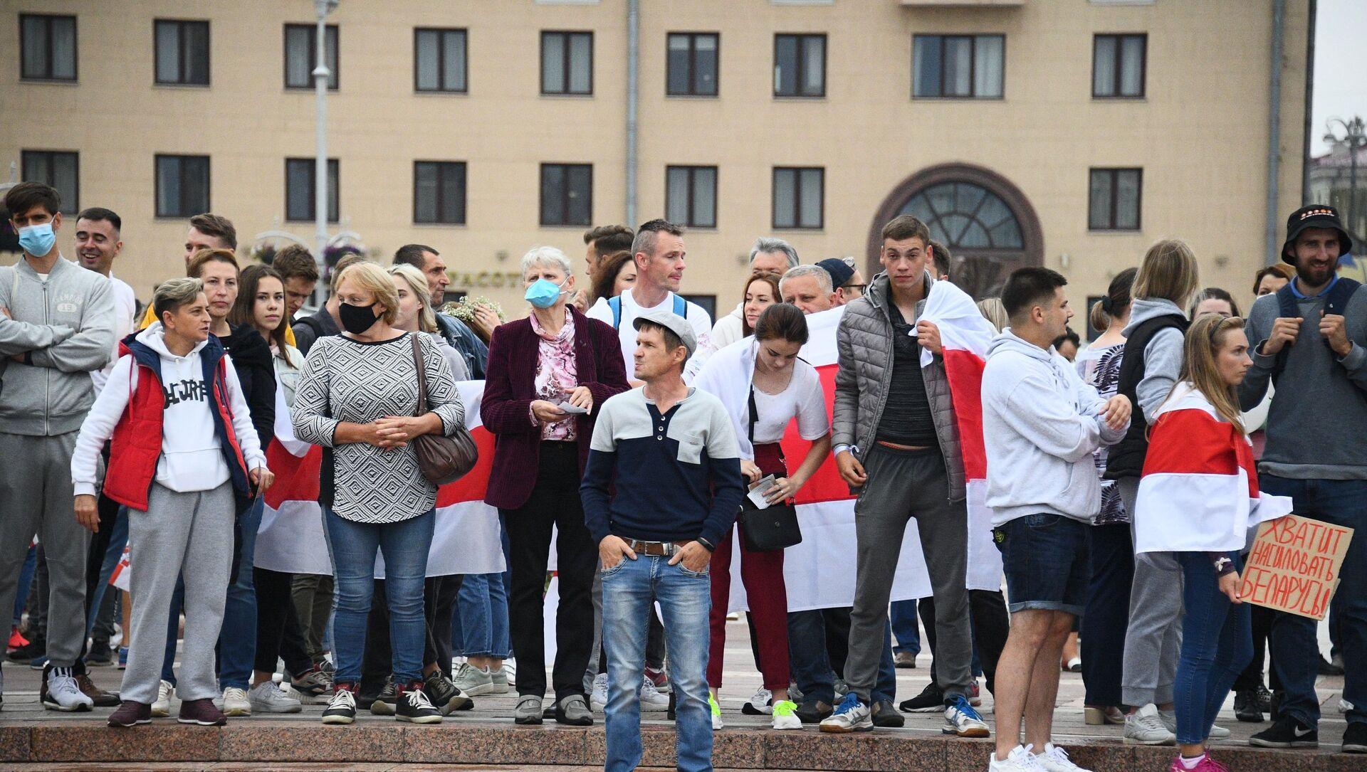 Protesty na Białorusi - Sputnik Polska, 1920, 12.06.2021
