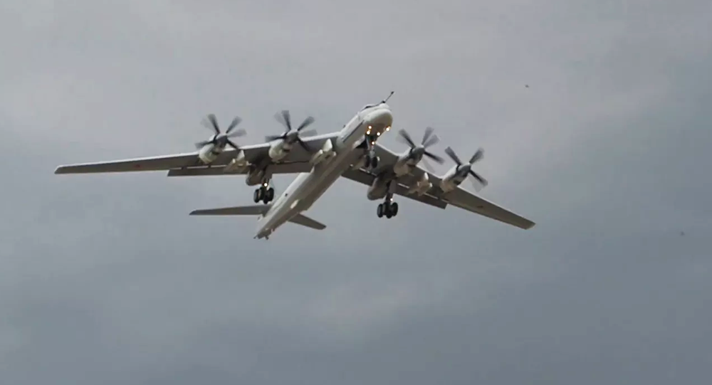 Samolot Tu-95MSM.