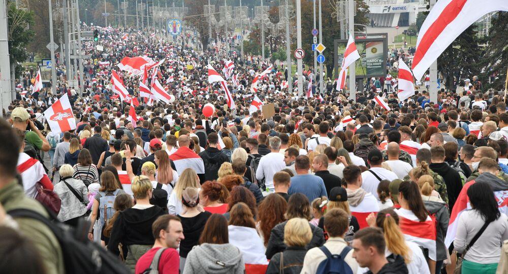 Protesty w Mińsku (23. 08. 2020)