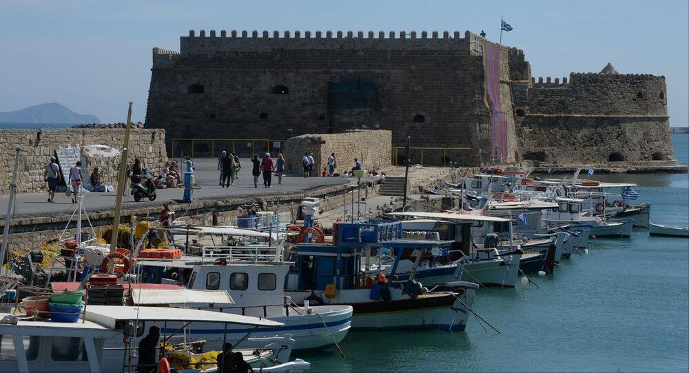 Twierdza Kules - średniowieczna forteca morska z XIV wieku w Heraklionie na Krecie