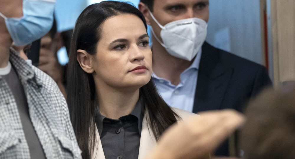 Liderka białoruskiej opozycji Swiatłana Cichanouska
