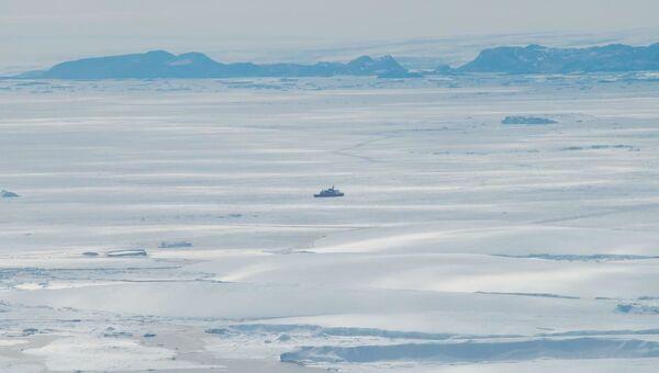 Lodowiec Shirase we wschodniej Antarktydzie - Sputnik Polska