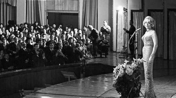Koncert Marlene Dietrich w Moskwie - Sputnik Polska