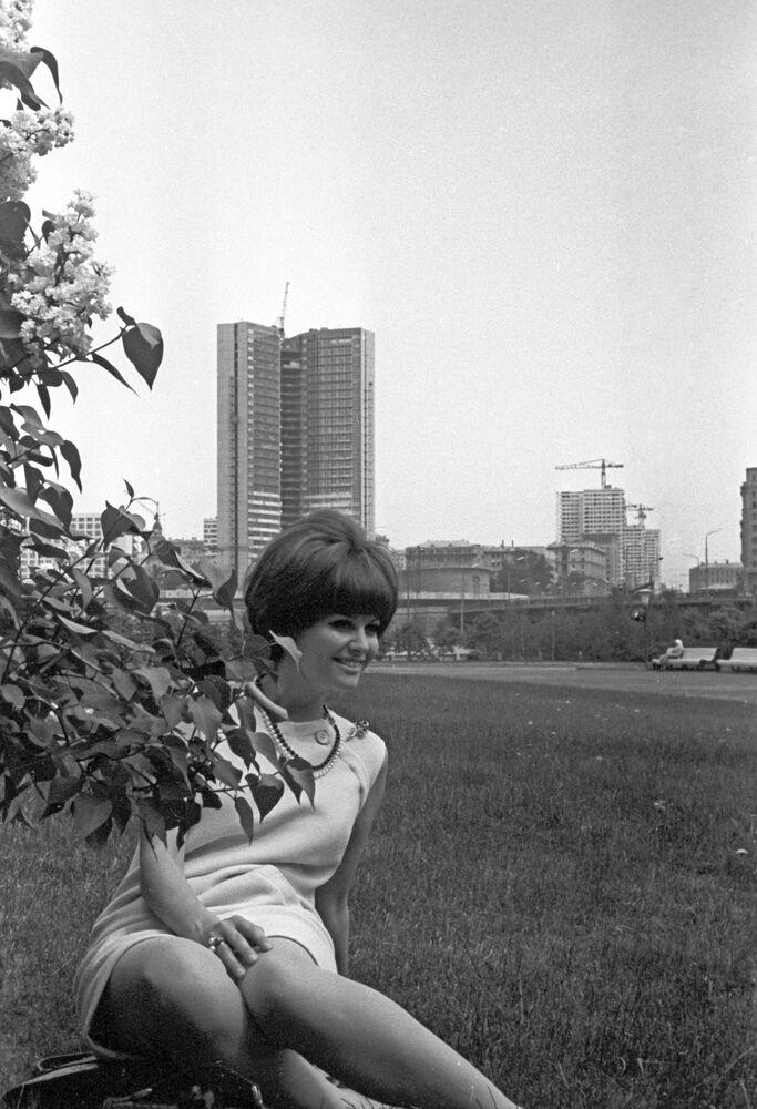 Włoska aktorka Claudia Cardinale, 1967 rok