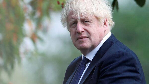 Premier Wielkiej Brytanii Boris Johnson - Sputnik Polska