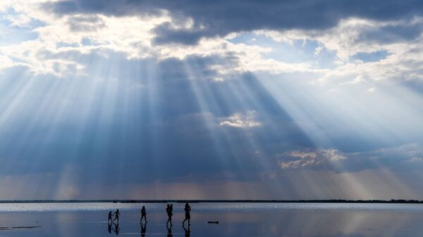 Jezioro Burlinskoje w Kraju Ałtajskim - Sputnik Polska