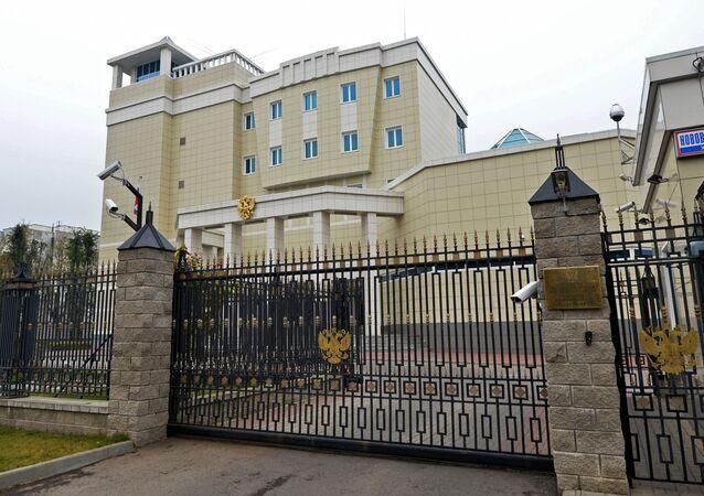 Budynek Ambasady Rosji na Białorusi w Mińsku