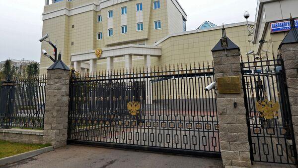 Budynek Ambasady Rosji na Białorusi w Mińsku - Sputnik Polska