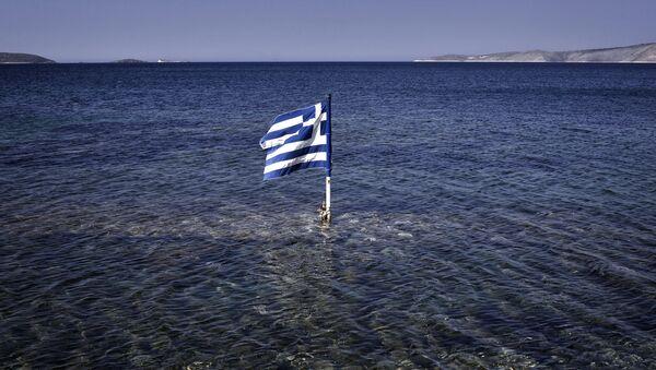 Flaga Grecji. - Sputnik Polska