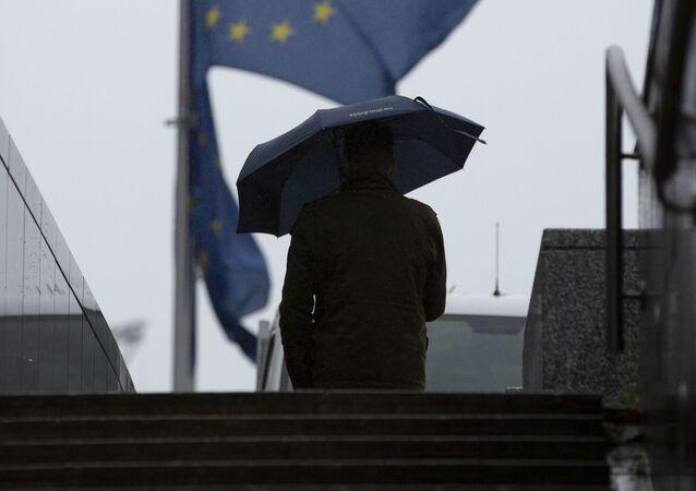 Flaga UE.