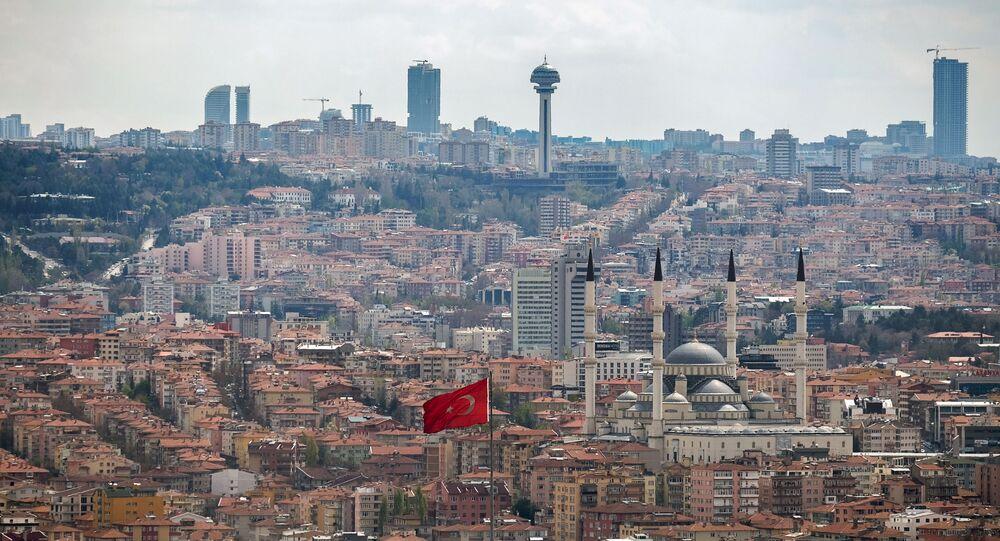 Ankara. Turcja.