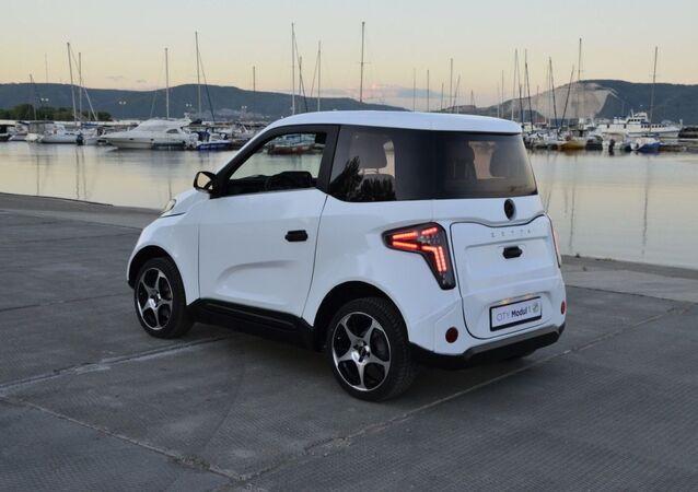 Rosyjski samochód elektryczny Zetta