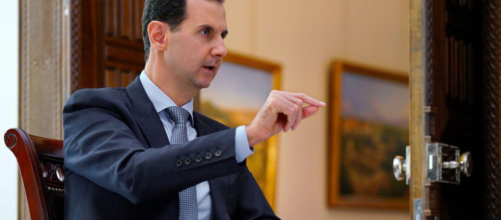 Prezydent Syrii Baszar al-Asad - Sputnik Polska, 1920, 23.04.2021