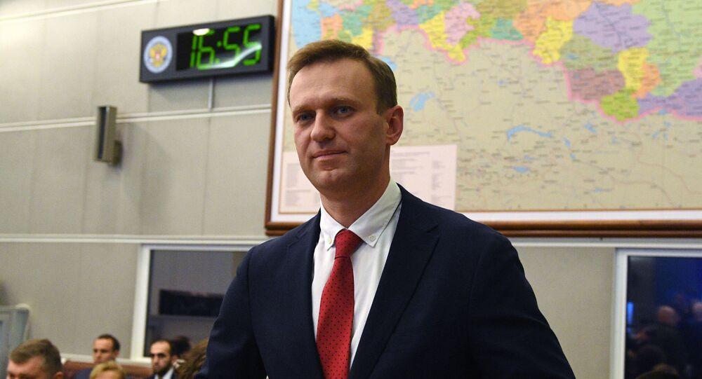 Aleksiej Nawalny, 2017 rok