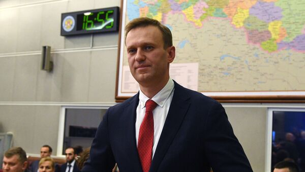 Aleksiej Nawalny, 2017 rok - Sputnik Polska