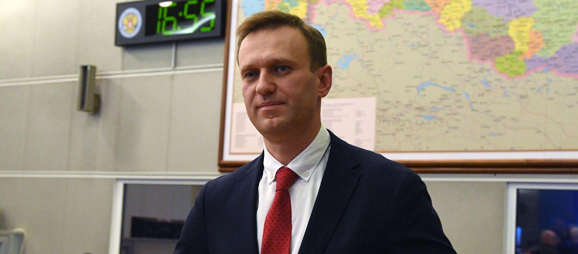 Aleksiej Nawalny, 2017 rok - Sputnik Polska, 1920, 07.09.2020