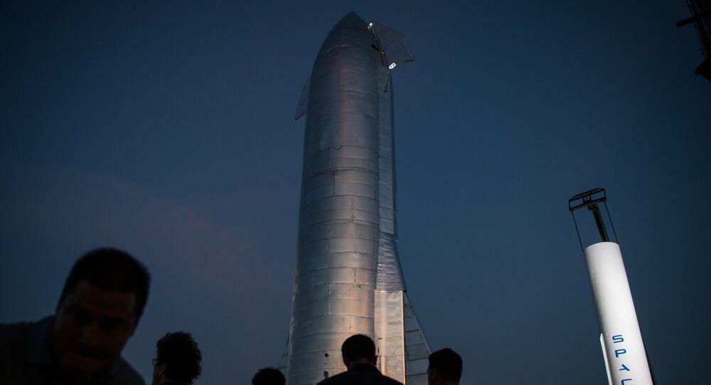 Prototyp statku kosmicznego Starship firmy SpaceX Elona Muska