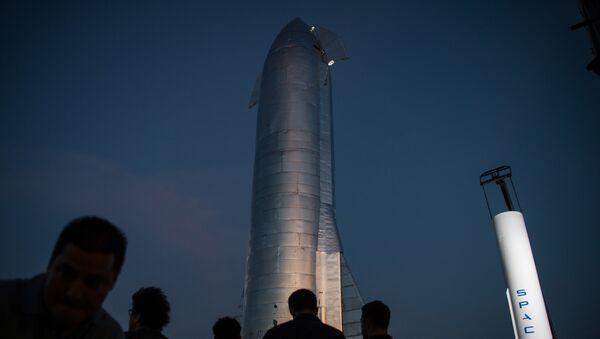 Prototyp statku kosmicznego Starship firmy SpaceX Elona Muska - Sputnik Polska