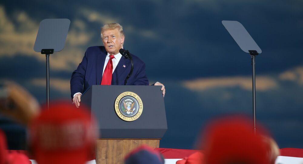 Przemówienie Donalda Trumpa w New Hampshire