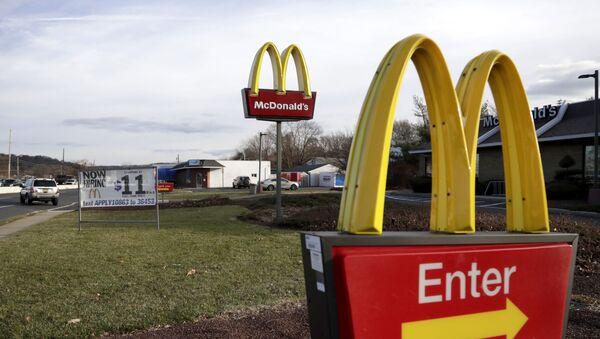 Restauracja McDonald's w New Jersey - Sputnik Polska