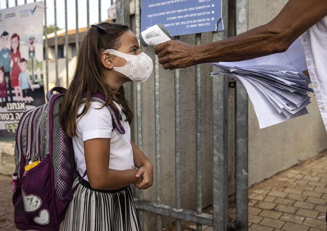 Pierwszy dzień szkoły w Izraelu
