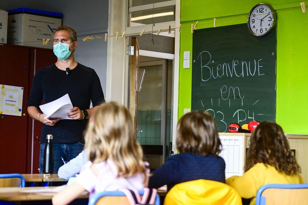 Pierwszy dzień szkoły w Brukseli