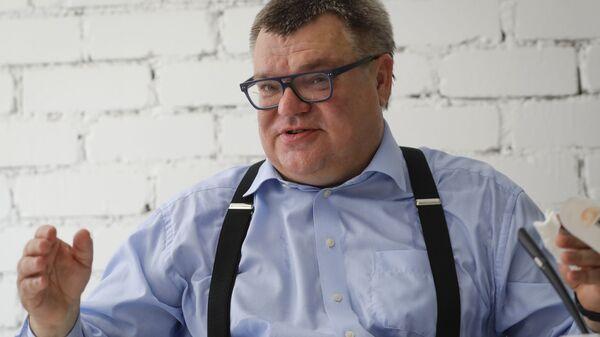 Wiktar Babaryka, były kandydat na urząd prezydenta Białorusi - Sputnik Polska