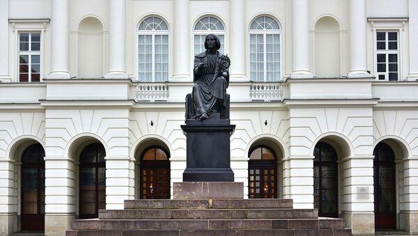 Pomnik Kopernika w Warszawie - Sputnik Polska