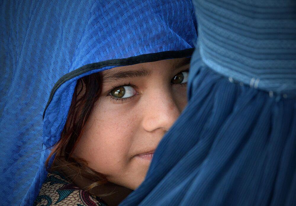 Afgańska dziewczyna w Pakistanie