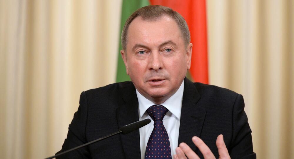 Minister spraw zagranicznych Białorusi Uładzimir Makiej